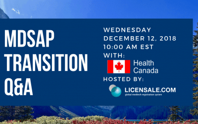 Health Canada Conference Call – Three Important Dates to Remember