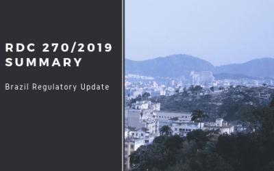 RDC 270/2019 Summary