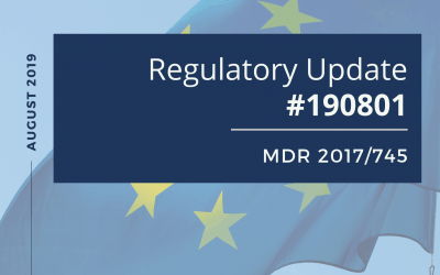 Regulatory Update #190801– MDR 2017/745