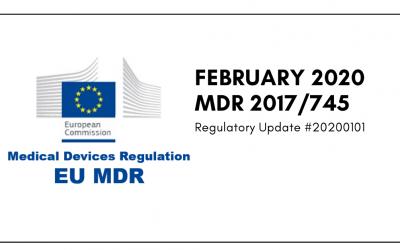 February 2020 MDR 2017/745 Regulatory Update