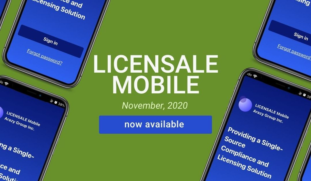 LICENSALE Mobile Now Available!
