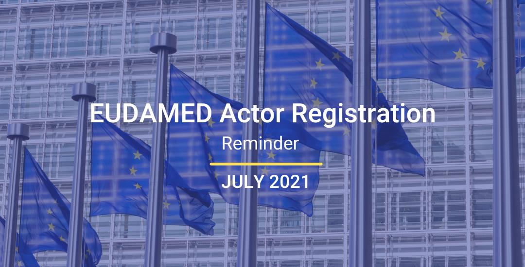 EUDAMED Actor Registration